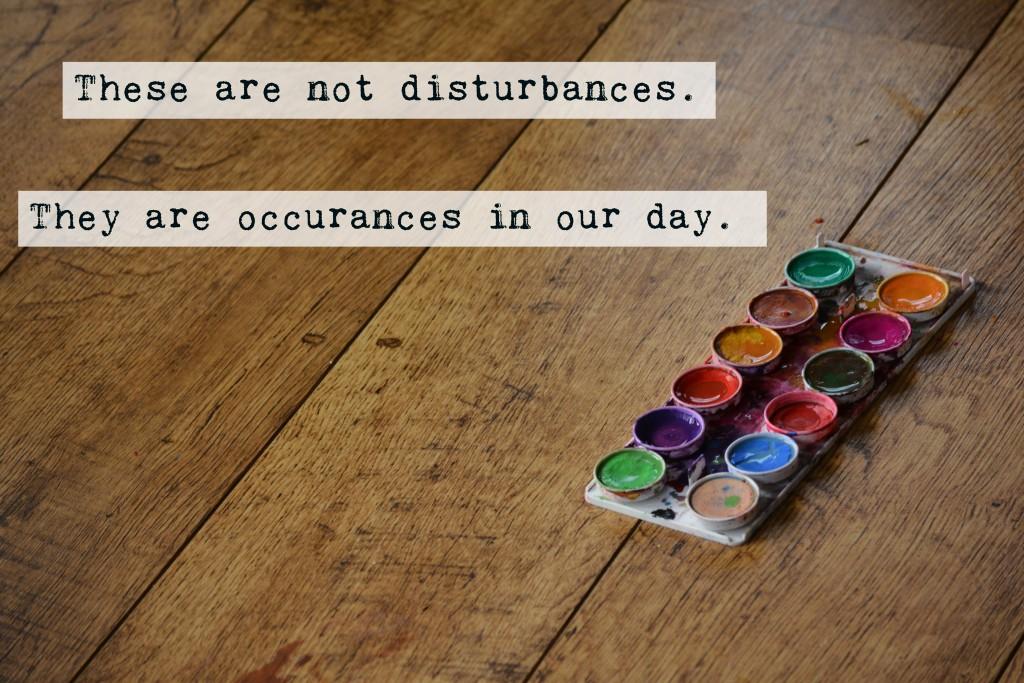 notdisturbances