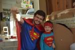 The superdaddy has a birthday